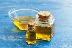 Pure raw Argan oil has a golden yellow color.