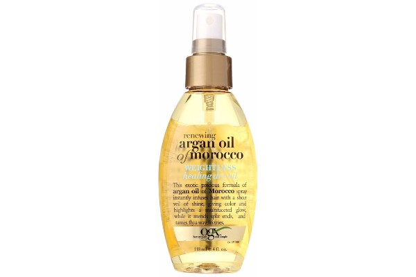 OGX Moroccan Argan Oil Weightless Dry Oil Bottle