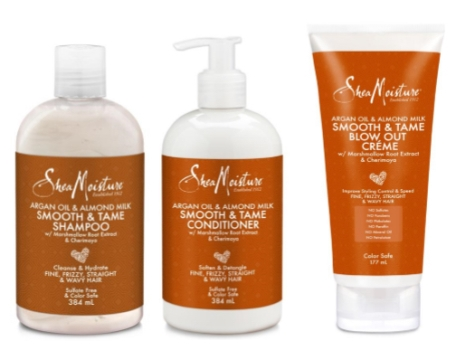 Shea Moisture hair care products