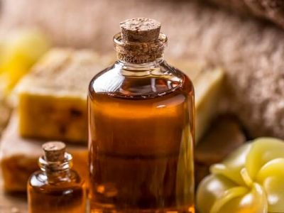 Dark-colored argan oil